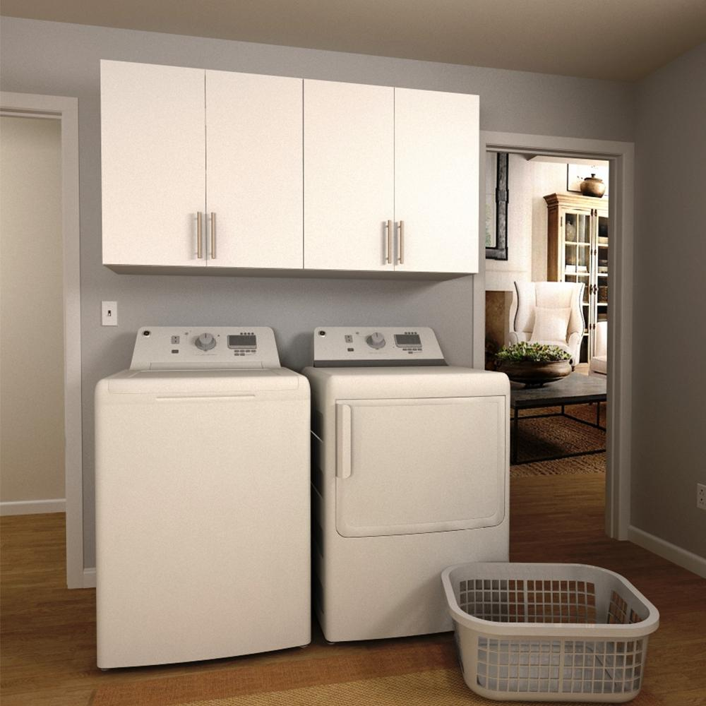 White Cabinets For Laundry Room  Home Design