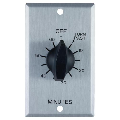 small resolution of defiant 20 amp 60 minute in wall spring wound timer switch with stainless steel