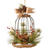 National Tree Company 13 in. Bird Cage Decor-RAC-15318DS13 ...