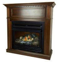 Real Flame Valmont 76 in. Media Console Ventless Gel Fuel ...