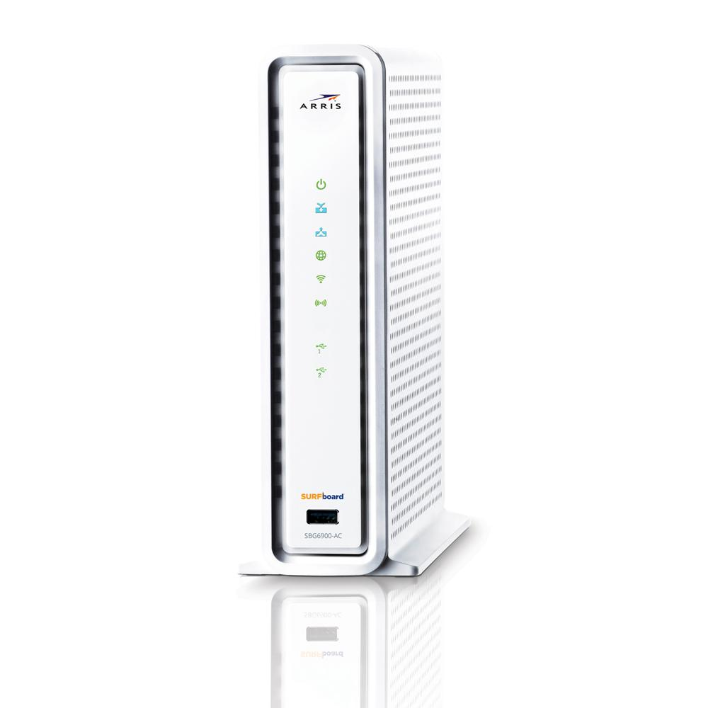 ARRIS SURFboard Wireless DOCSIS 3.0 Cable Modem and Wi-Fi