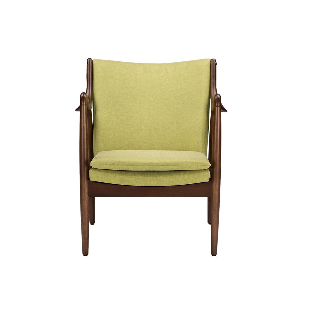 Green Upholstered Chair Baxton Studio Shakespeare Mid Century Green Fabric Upholstered