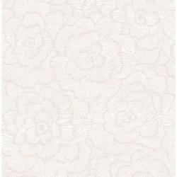 A Street Periwinkle Pink Textured Floral Pink Wallpaper Sample 2969 26037SAM The Home Depot