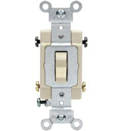 leviton 15 20 amp 4 way toggle switch ivory r51 0csb4 2is the rh homedepot com four way switch wire schematic with a 4 way switch wiring multiple lights [ 1000 x 1000 Pixel ]