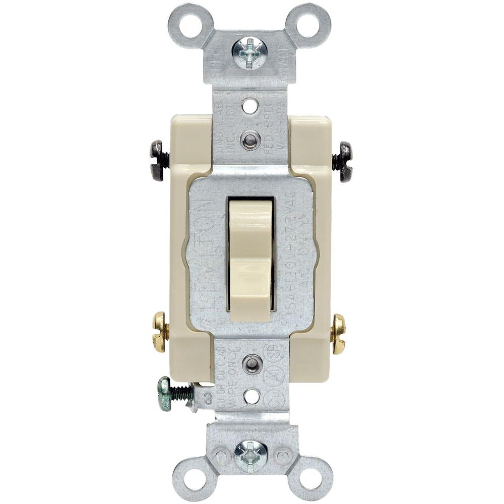 medium resolution of leviton 15 20 amp 4 way toggle switch ivory r51 0csb4 2is the rh homedepot com four way switch wire schematic with a 4 way switch wiring multiple lights