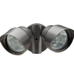 lithonia lighting 2 lamp outdoor bronze flood light [ 1000 x 1000 Pixel ]