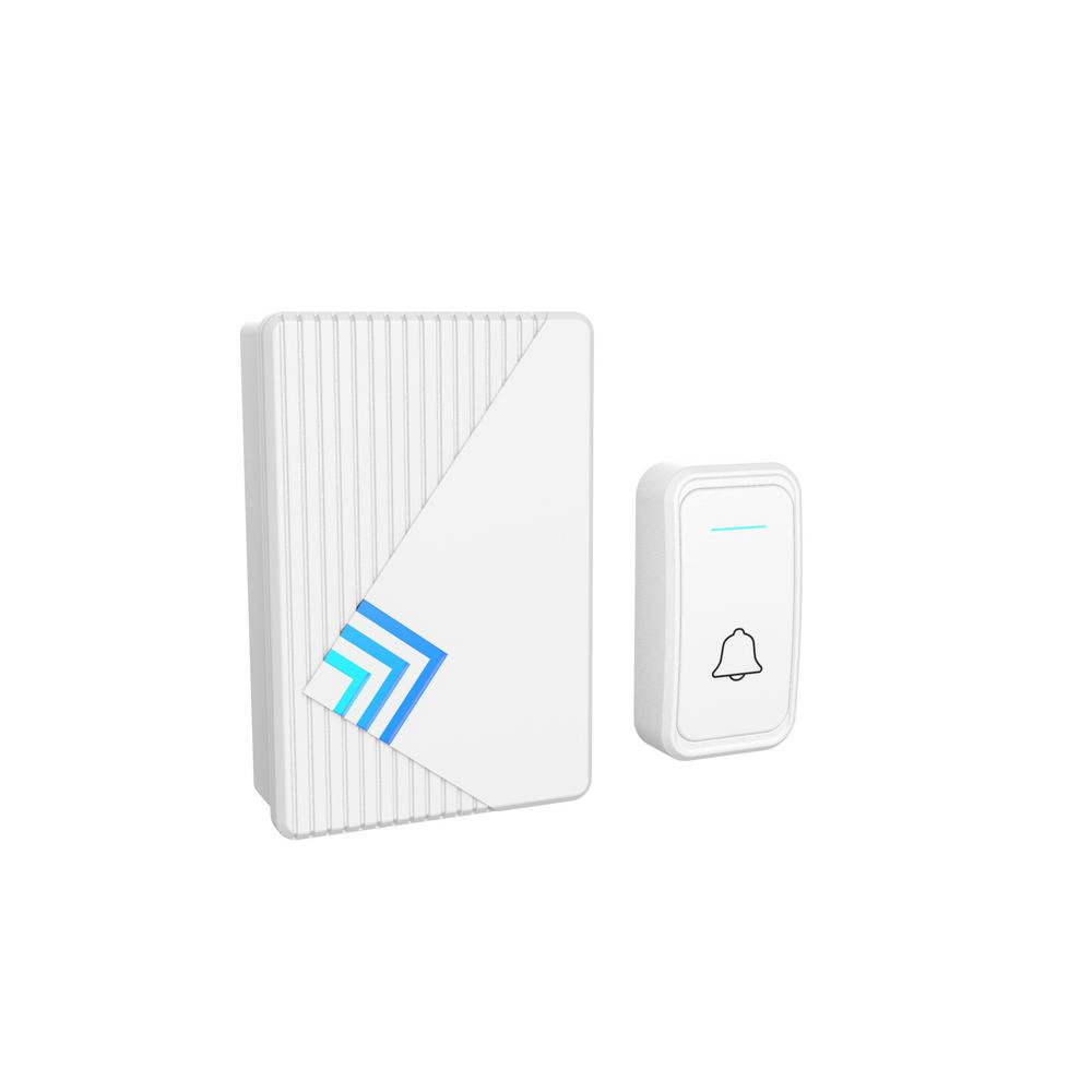 Stalwart Wireless Electronic Door Bell with LED Indicator