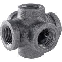 Pipe Decor 1/2 in. Black Iron 6