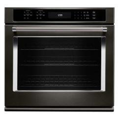 Kitchen Aid Pro 500 Diy Cabinets Kitchenaid 30 In. Single Electric Wall Oven Self-cleaning ...