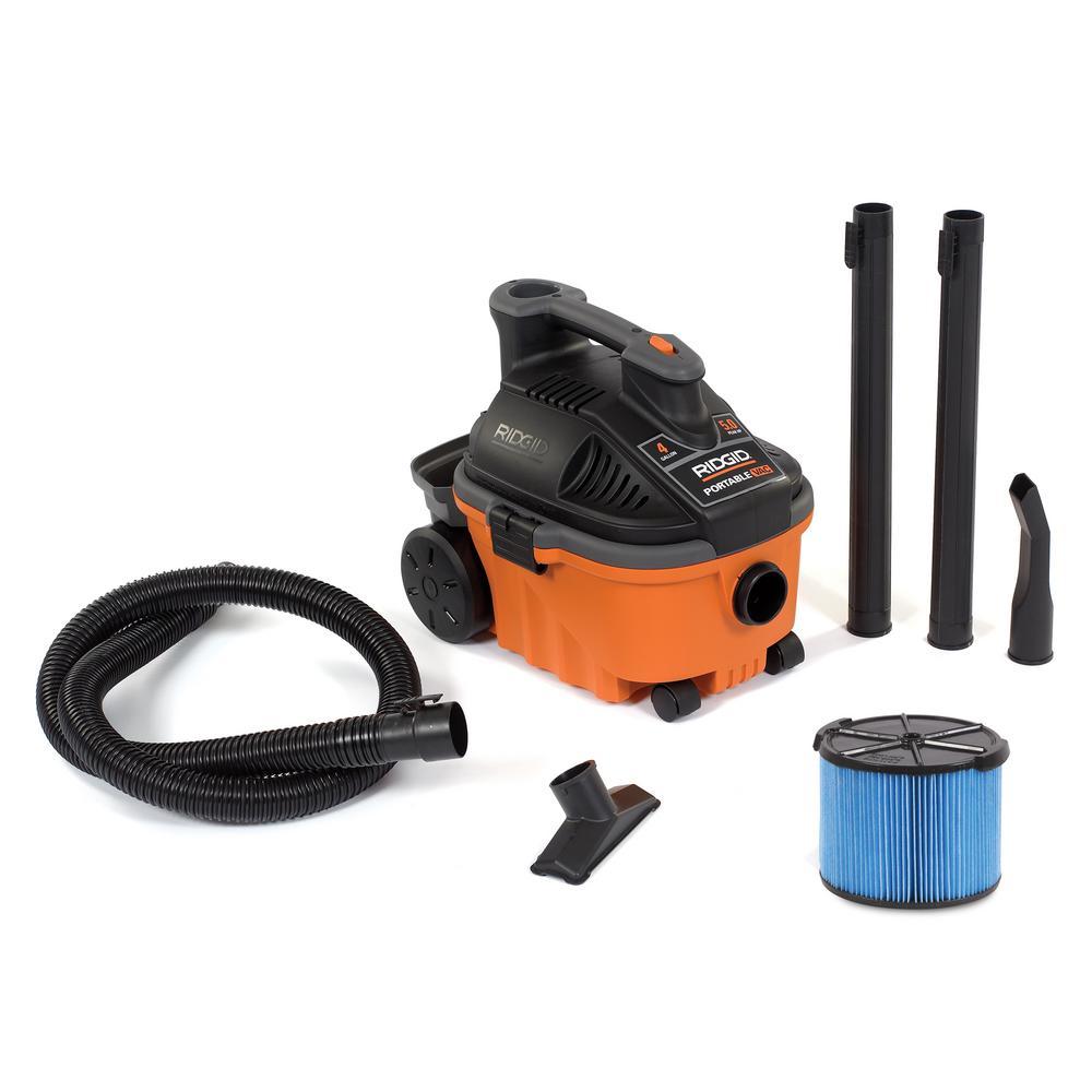 hight resolution of 5 0 peak hp portable wet dry vacuum
