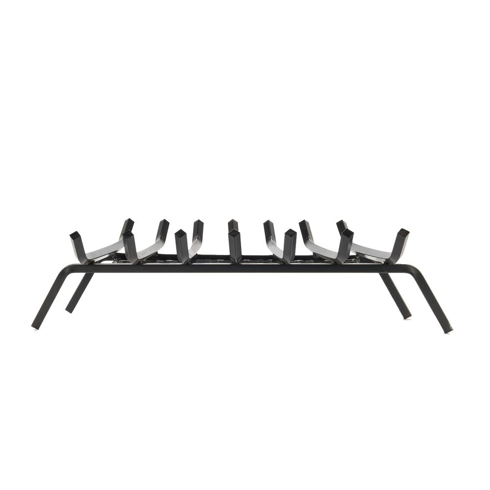 Liberty Foundry 30 in. Steel Bar Fireplace Grate with 5 in