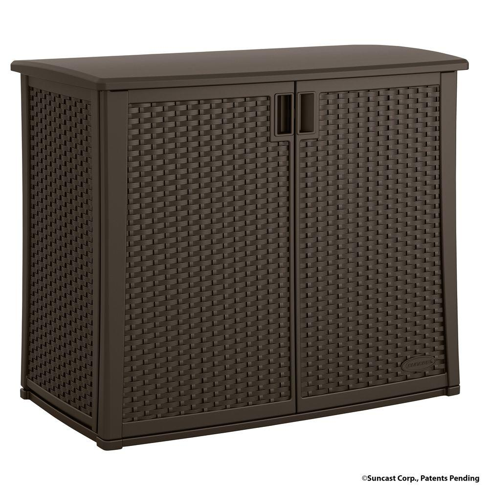 Suncast 4225 in x 23 in Outdoor Patio CabinetBMOC4100