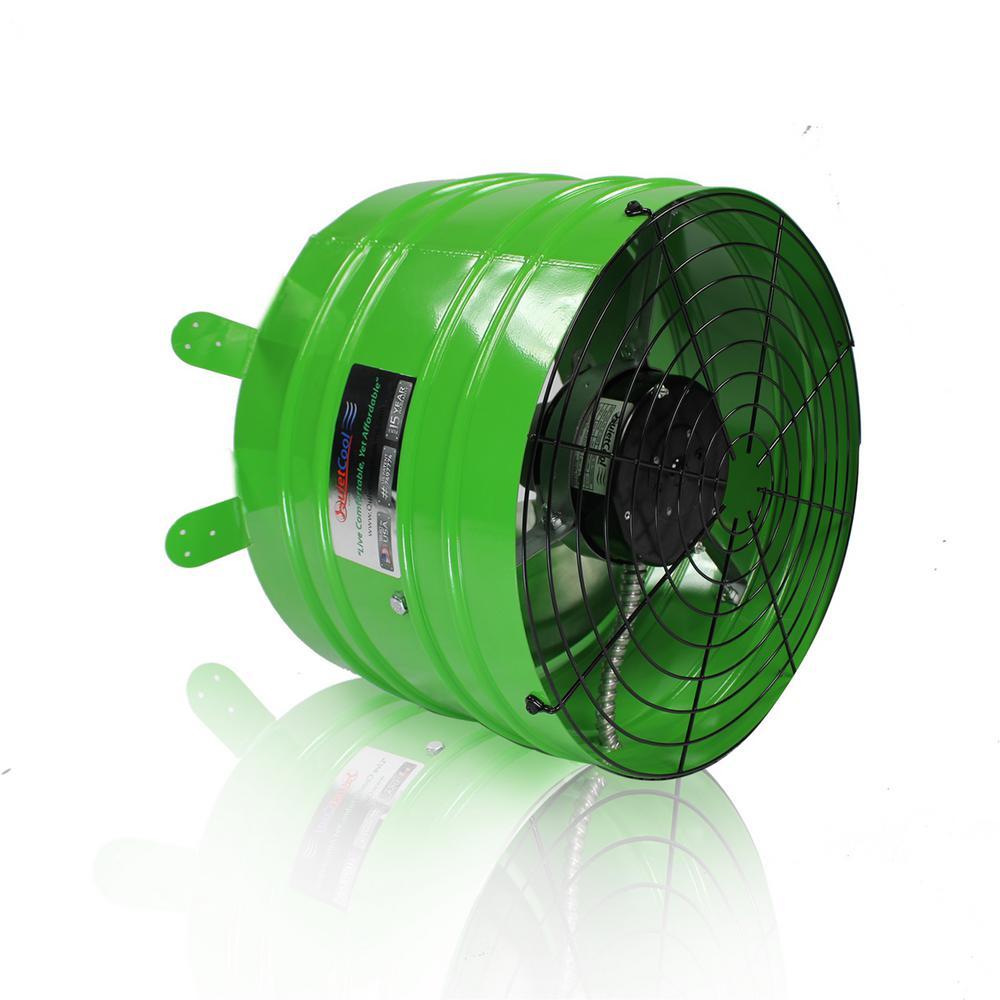 hight resolution of quietcool smart 2830 cfm power gable mount attic fan