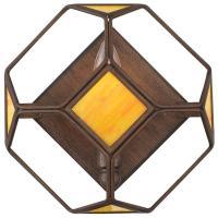 Varaluz Rogue Decor Cubert 1-Light Rustic Bronze Cube Wall ...