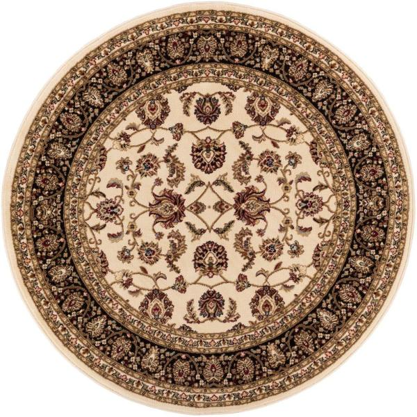 3 FT Round Area Rugs