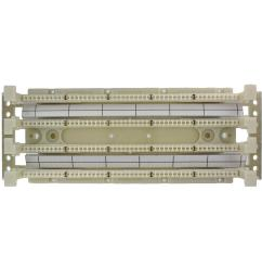 cat 5e 110 style wiring block wall mount with legs ivory 100 pair  [ 1000 x 1000 Pixel ]