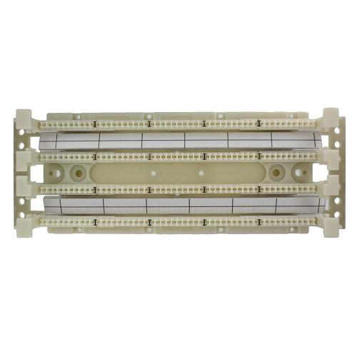 small resolution of cat 5e 110 style wiring block wall mount with legs ivory 100 pair