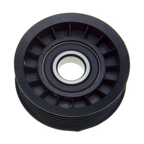 small resolution of accessory drive belt tensioner pulley alternator water pump and power steering lower