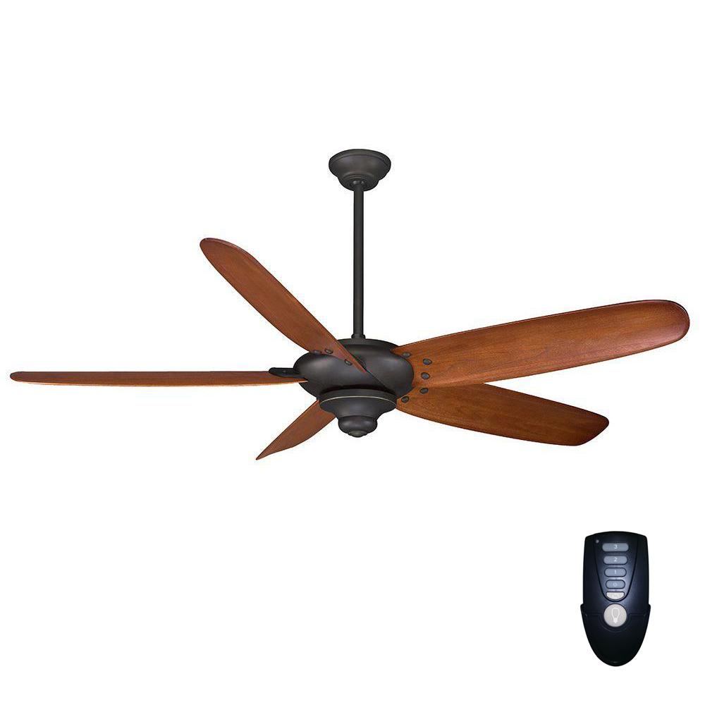 medium resolution of indoor oil rubbed bronze ceiling fan with remote control