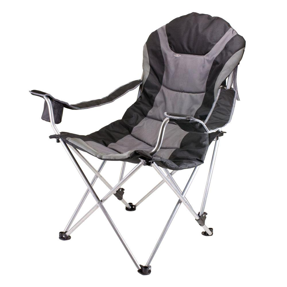 patio folding chairs padded round table and set uk picnic time reclining camp black grey chair 803 00 175 000