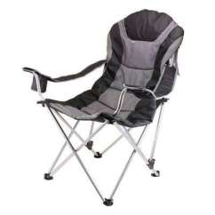 Best Folding Quad Chair Hanging Revit Camping Chairs Furniture The Home Depot Reclining Camp Black And Grey Patio
