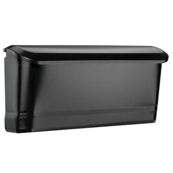 Black Wall Mount Mailboxes Residential