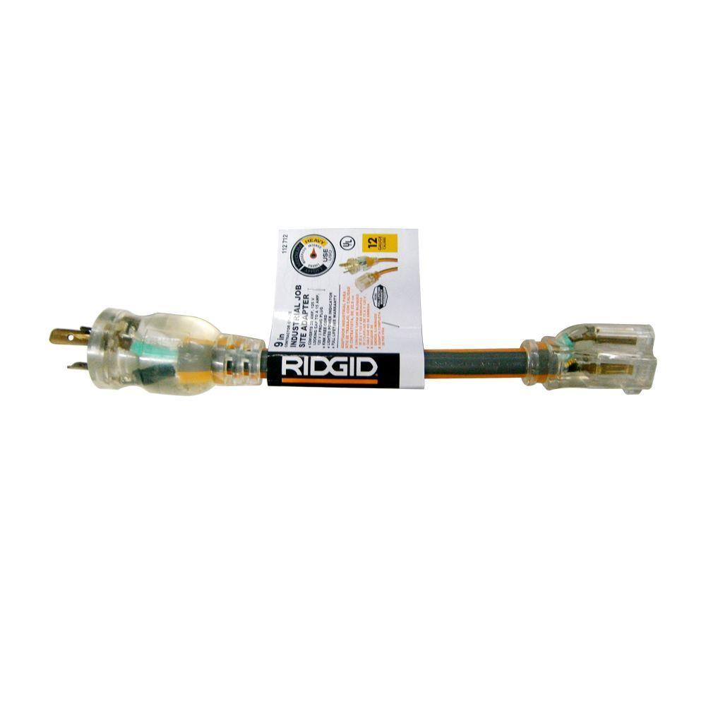 hight resolution of 3 prong to twist lock adaptor