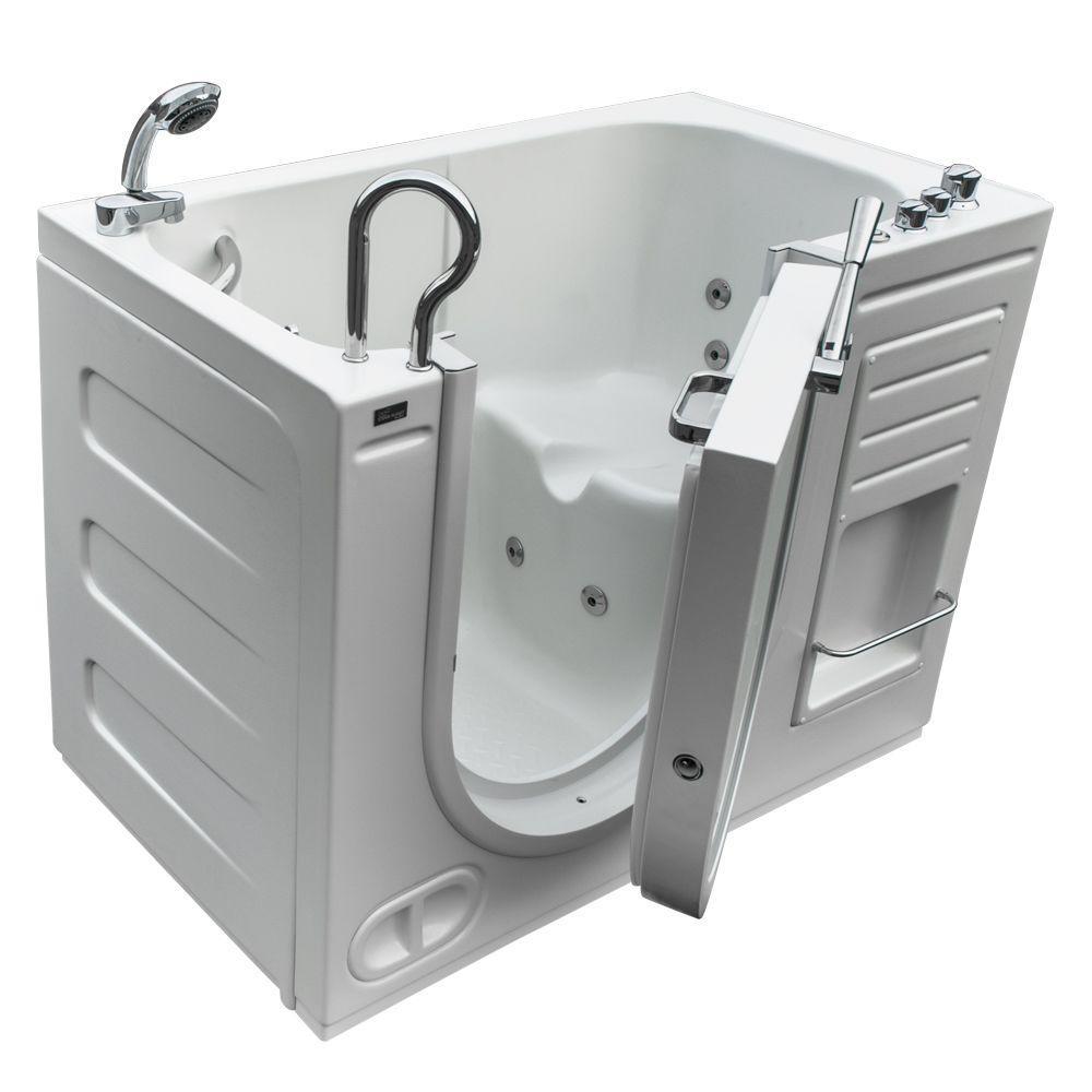 Schon Colton 525 Ft Center Drain Freestanding Bathtub In