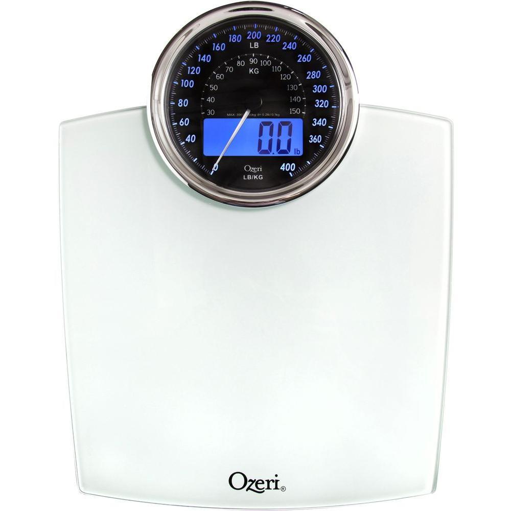 Ozeri Rev Digital Bathroom Scale with ElectroMechanical