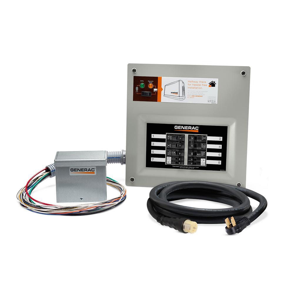 medium resolution of generac homelink 50 amp upgrade able manual transfer switch kit 9855 9000w generator transfer switch diagram