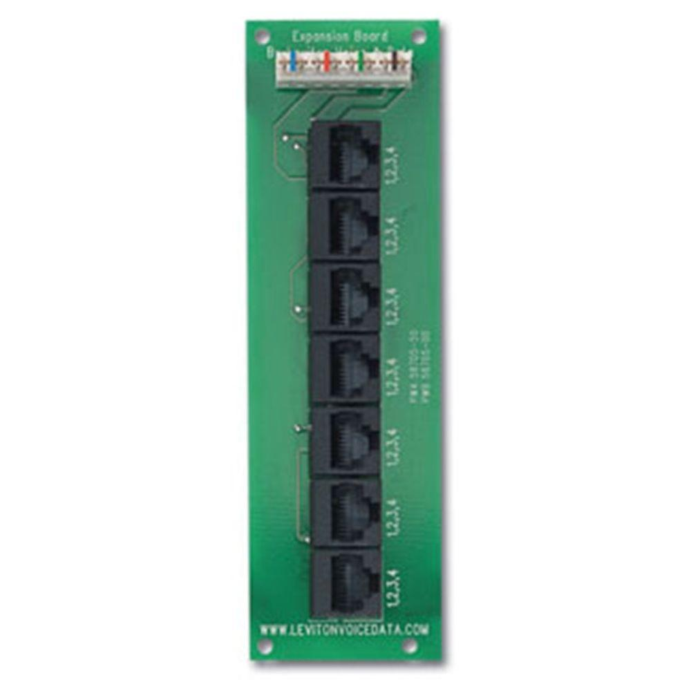 patch panel wiring diagram eye model without labels panels structured media the home depot telephone patching expansion board
