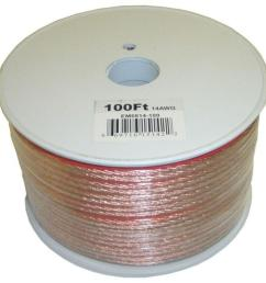 electronic master 100 ft 14 2 stranded speaker wire [ 1000 x 1000 Pixel ]