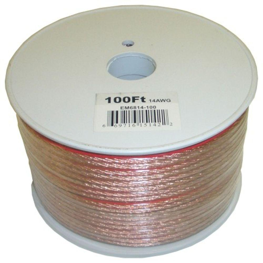 medium resolution of electronic master 100 ft 14 2 stranded speaker wire