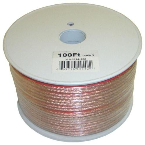 small resolution of electronic master 100 ft 14 2 stranded speaker wire