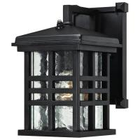 Westinghouse Caliste Textured Black Outdoor Dusk to Dawn