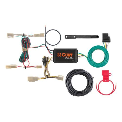 small resolution of curt custom wiring harness 4 way flat output 55563 the home depotcustom wiring harness