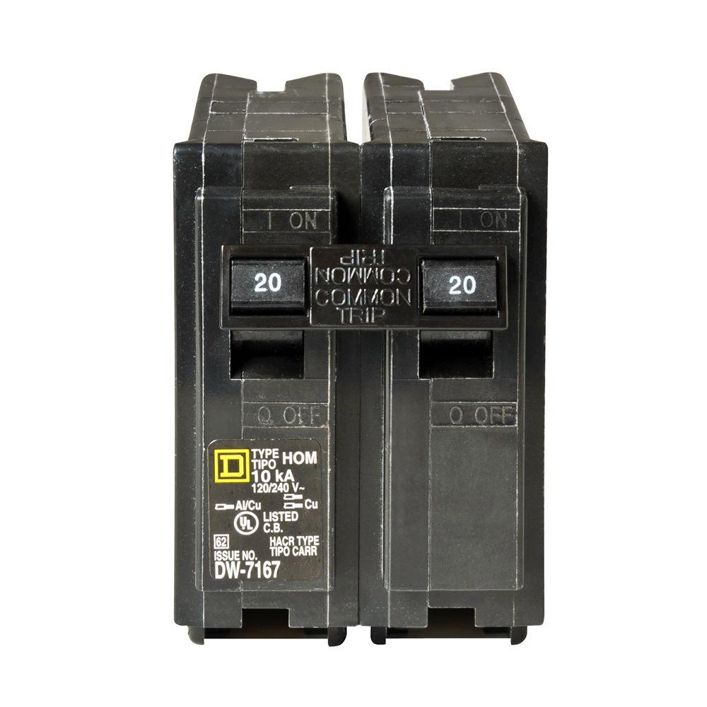 medium resolution of square d homeline 25 amp 2 pole circuit breaker hom225cp the home 220 amp breaker fuse box with