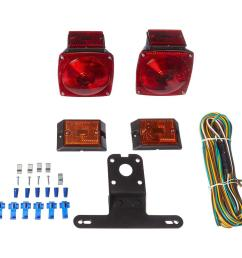 12 volt incandescent trailer light kit for trailers under 80 in  [ 1000 x 1000 Pixel ]