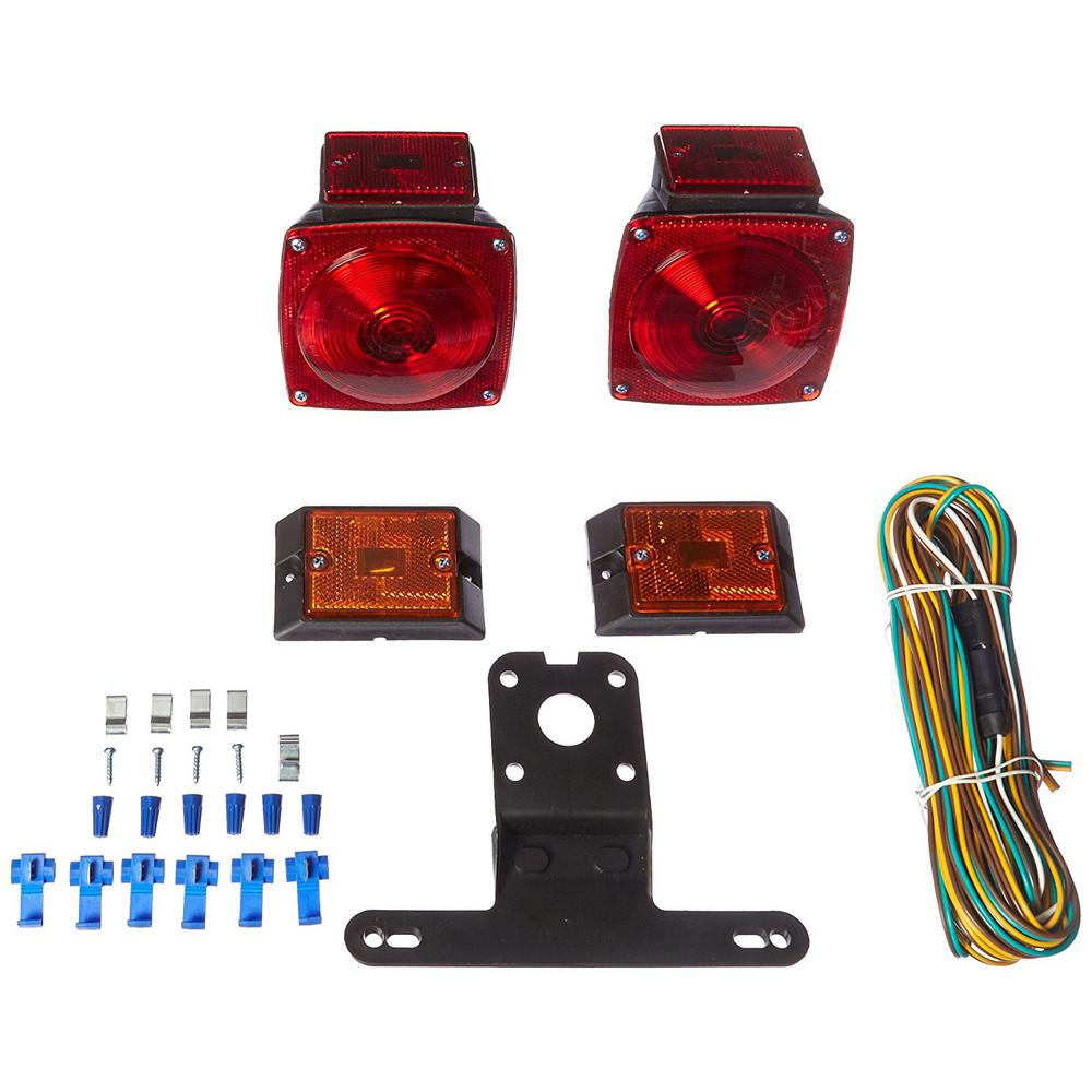hight resolution of 12 volt incandescent trailer light kit for trailers under 80 in