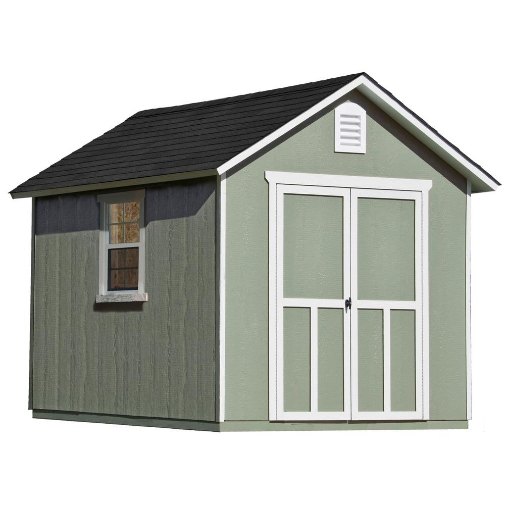 hight resolution of wood storage shed with