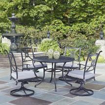 Hampton Bay Niles Park 5-piece Sling Patio Dining Set-s5