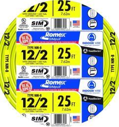 12 2 solid romex simpull cu nm b w g wire [ 1000 x 1000 Pixel ]