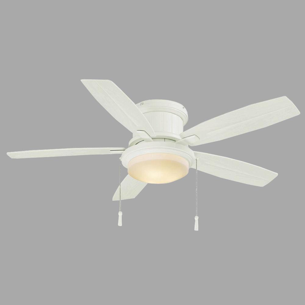 Hampton Bay Roanoke 48 in. Indoor/Outdoor White Ceiling