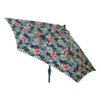 Hampton Bay 9 ft. Aluminum Market Tilt Patio Umbrella in ...