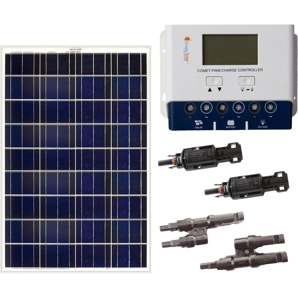 medium resolution of grape solar 200 watt off grid solar panel kit