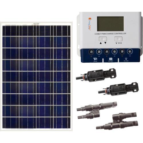 small resolution of grape solar 200 watt off grid solar panel kit