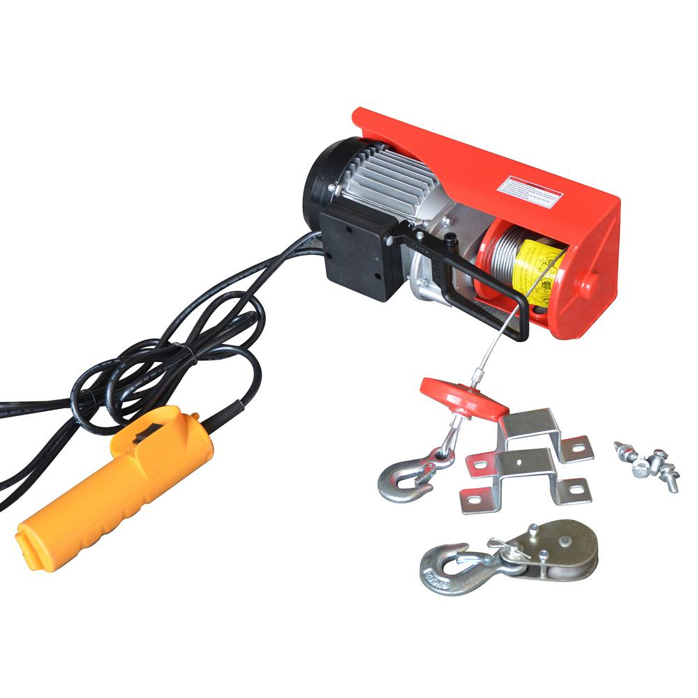 hight resolution of capacity electric hoist with remote control