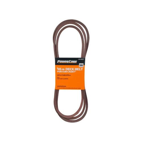 small resolution of mtd cub cadet 46 in tractor deck belt 2007 and 2008 hd95404153a the home depot