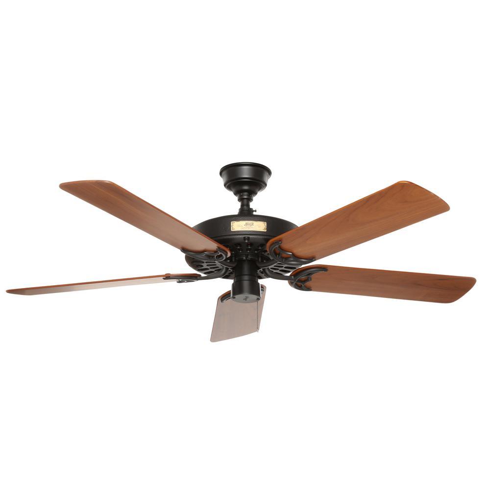 medium resolution of hampton bay largo 48 in indoor outdoor gilded iron ceiling fan 26684 the home depot