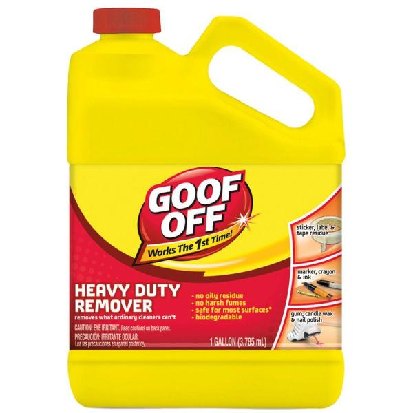 Heavy Duty Goof Off Remover - Year of Clean Water